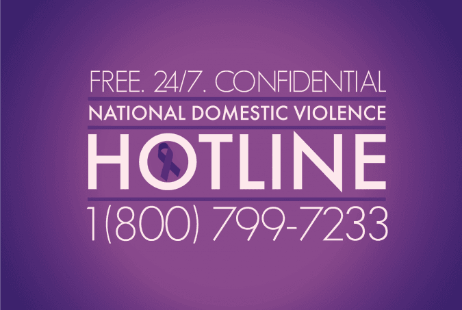 Image result for national domestic violence hotline