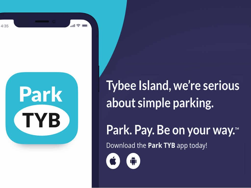 ParkTYB phone app available for both Android and iPhone