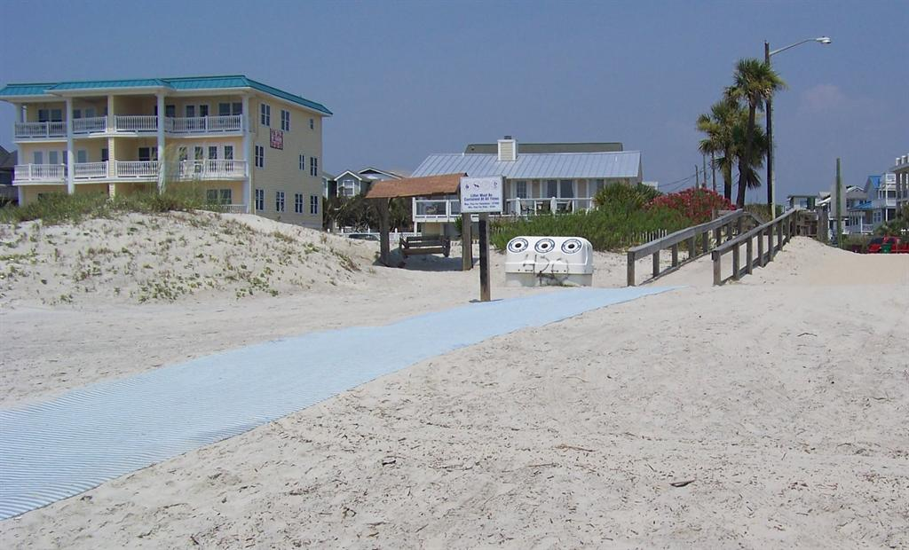 Beach Walking Path