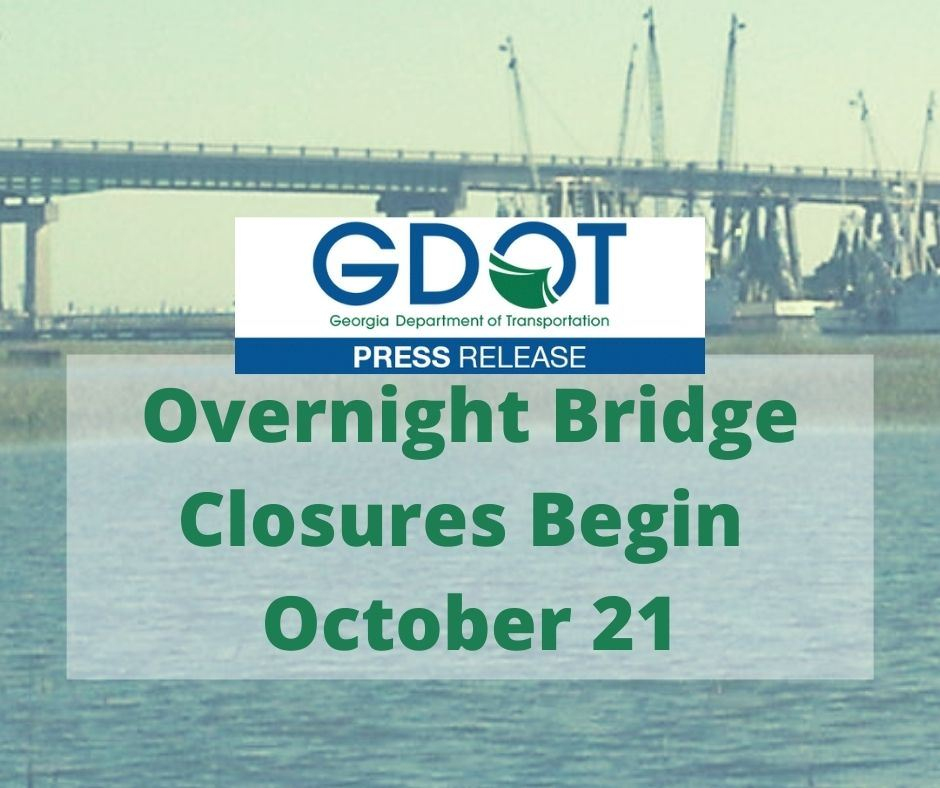Overnight Bridge Closings