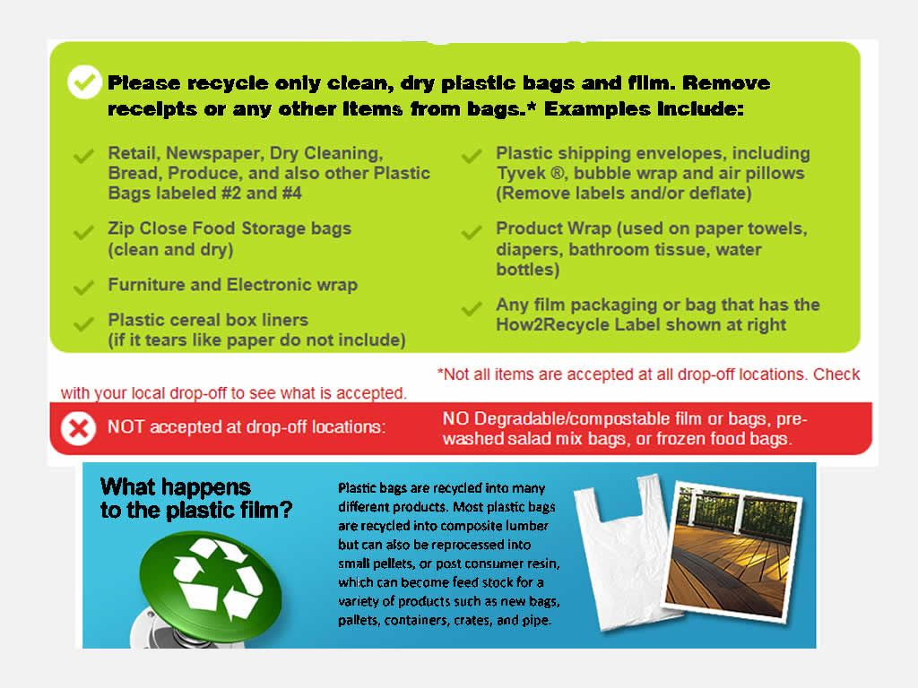Bag Recycle Flyer