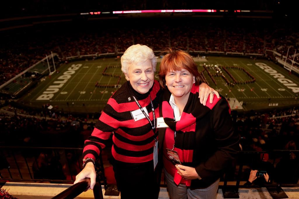 UGA Alumni, Diane Schleicher and her mother, Athen